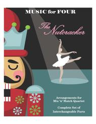 Arab Dance from the Nutcracker for String Quartet or Piano Quintet with optional Violin 3 Part