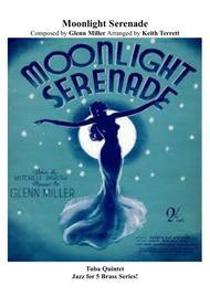 Moonlight Serenade for Tuba Quintet (Jazz for 5 Series)