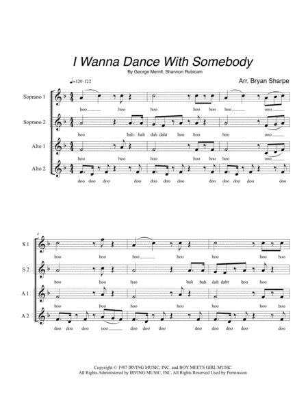 I Wanna Dance With Somebody
