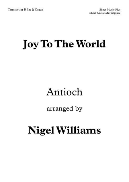 Joy To The World, for Trumpet and Organ
