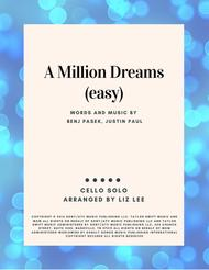 A Million Dreams (easy version) \| Cello