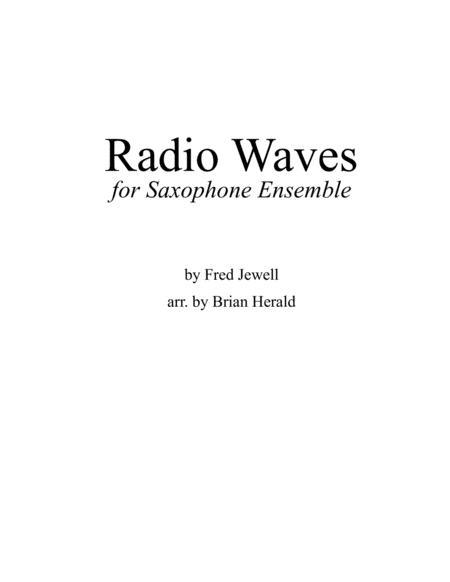 Radio Waves for Saxophone Ensemble
