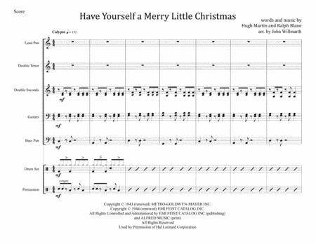 Have Yourself A Merry Little Christmas for Steel Band
