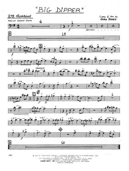 Big Dipper - 2nd Trombone