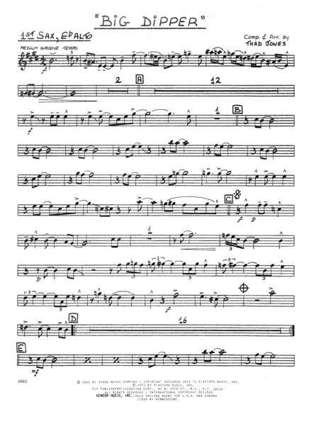 Big Dipper - 1st Eb Alto Saxophone