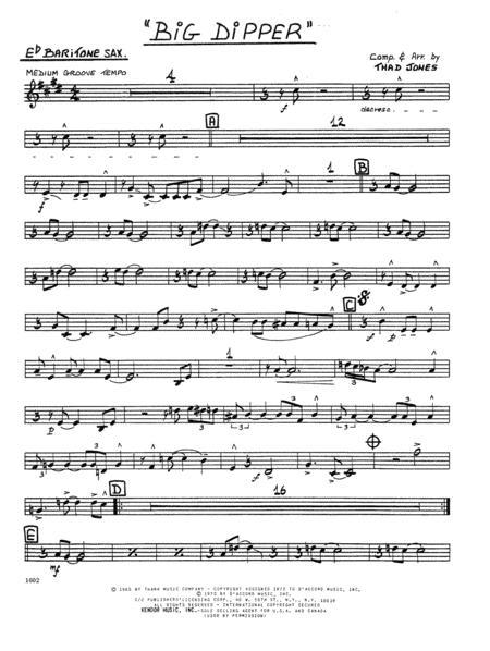 Big Dipper - Eb Baritone Saxophone
