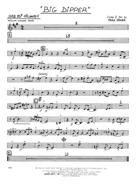 Big Dipper - 3rd Bb Trumpet
