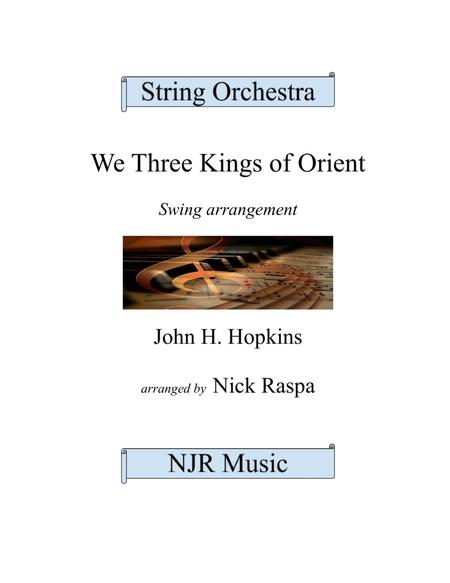 We Three Kings of Orient (jazzy string orchestra)