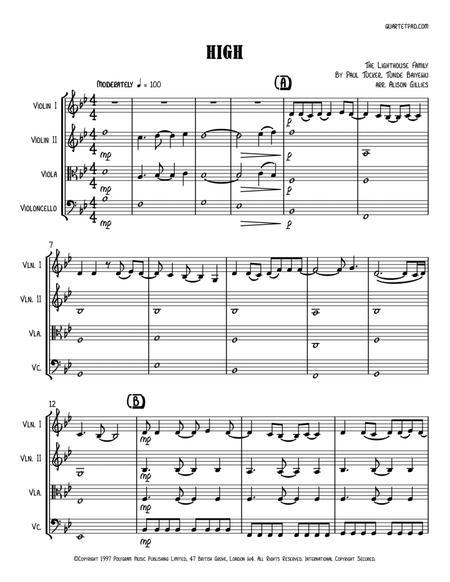 High - String Quartet