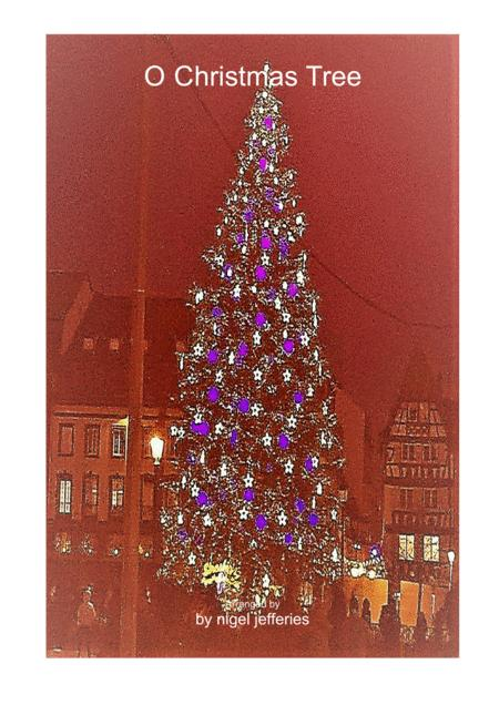 O Christmas Tree piano solo for intermediate level students
