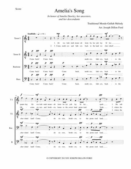 Amelia's Song for TTBarB (or ATBarB) chorus