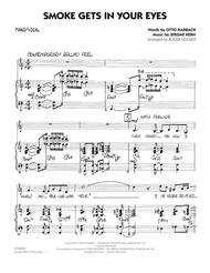 Smoke Gets In Your Eyes (arr. Roger Holmes) - Piano/Vocal