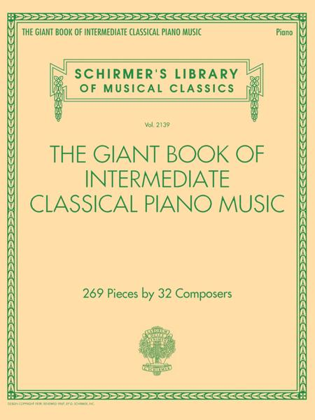 The Giant Book of Intermediate Classical Piano Music