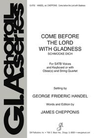 Come before the Lord with Gladness - Full Score and Parts