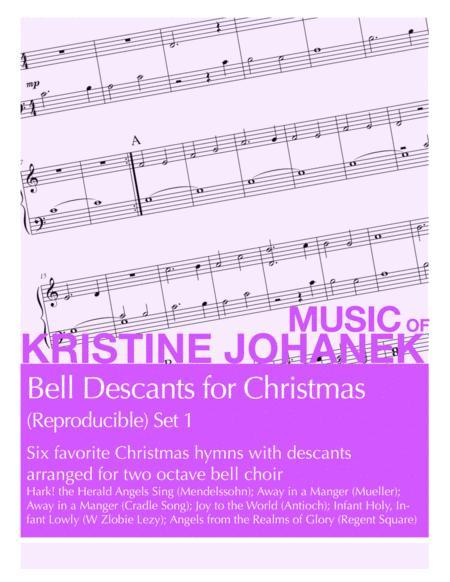 Bell Descants for Christmas (Reproducible) Set 1 (2 octaves)