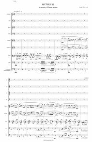 MYTHUS for Choir and String Orchestra - Stanza 3
