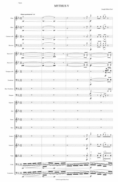 MYTHUS for Choir and Orchestra - Stanza 5