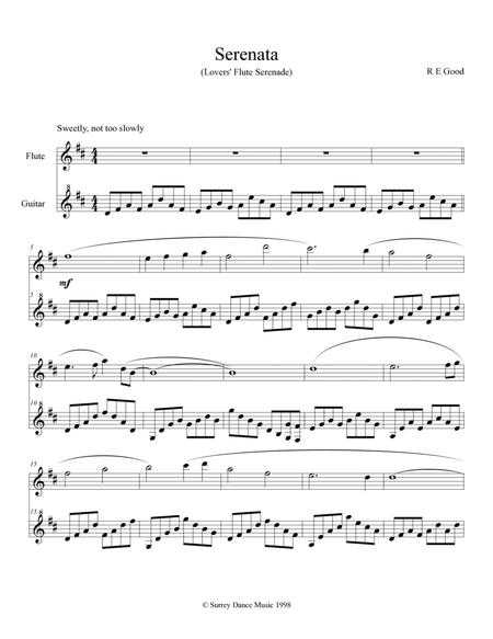 Serenata (Lovers' Flute Serenade) for flute and guitar