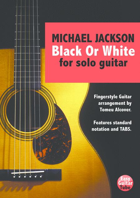 Black Or White (Fingerstyle Guitar)