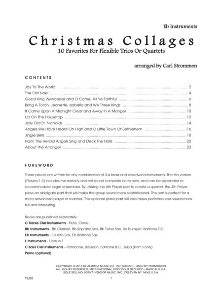 Christmas Collages - Eb Instruments