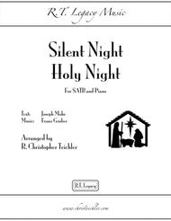 Silent Night, Holy Night - SATB and Piano