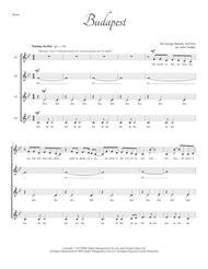 Budapest for SSAA a cappella quartet