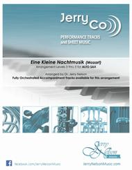 Eine Kleine Nachtmusik (Arrangements Level 3-5 for ALTO SAX + Written Acc)