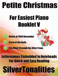 Petite Christmas for Easiest Piano Booklet V