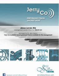 Jesus Loves Me  (Arrangments Level 3-5 for TENOR SAX + Written Acc) Hymn