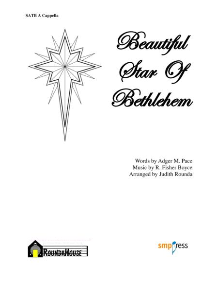 Beautiful Star Of Bethlehem By - Digital Sheet Music For ...