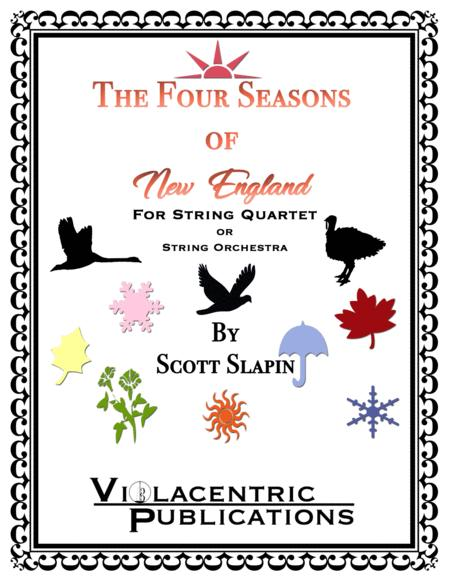 The Four Seasons of New England for String Quartet or String Orchestra
