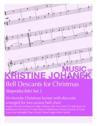 Bell Descants for Christmas (Reproducible) Set 2 (2 octaves)