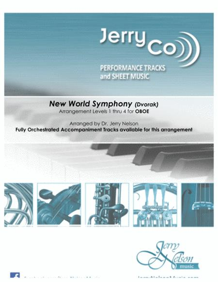 New World Symphony - Dvorak (Arrangements Level 2-4 for OBOE + Written Acc)