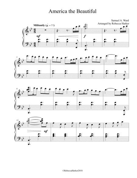 America the Beautiful (Advanced Piano Solo)