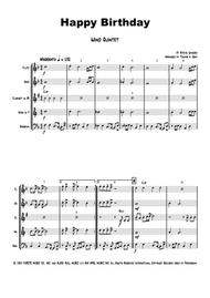 Happy Birthday Stevie Wonder Classic Wind Quintet By Stevie Wonder Digital Sheet Music For Score Set Of Parts Download Print H0 444865 Sc000002946 Sheet Music Plus