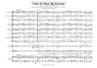 I vow to thee, my country (brass quintet + timpani, with vocal score)