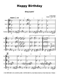 Happy Birthday Stevie Wonder Classic String Quartet By Stevie Wonder Digital Sheet Music For Score Set Of Parts Download Print H0 444891 Sc000002946 Sheet Music Plus