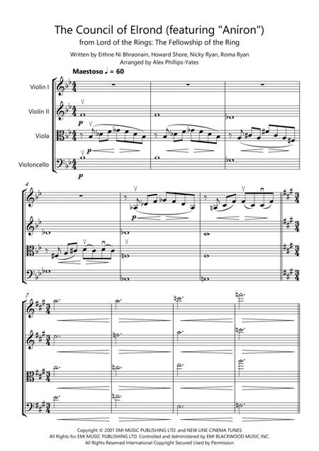 The Council Of Elrond (featuring