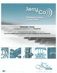 The Toreador Song - Bizet (Arrangements Level 3-5 for TROMBONE + Written Acc)