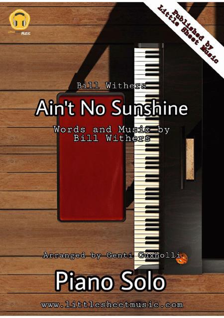 Ain't No Sunshine (Piano Solo)