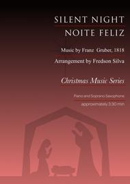 Silent Night for Piano and Soprano Saxophone