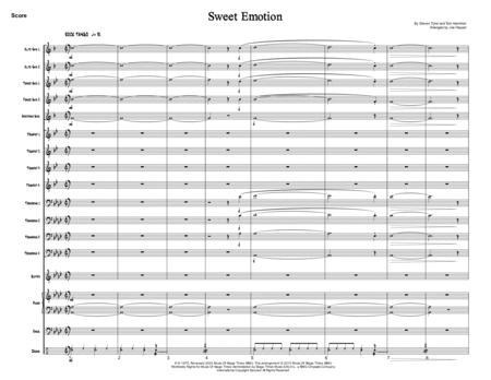 Sweet Emotion (Jazz Ensemble)