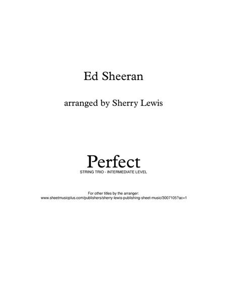 Perfect STRING TRIO (for string trio)