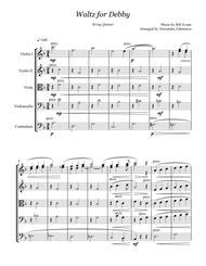 Waltz for Debby - Bill Evans String Quintet