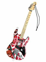 Eddie Van Halen - Frankenstein (Red/Black) 6 inch. Holiday Ornament