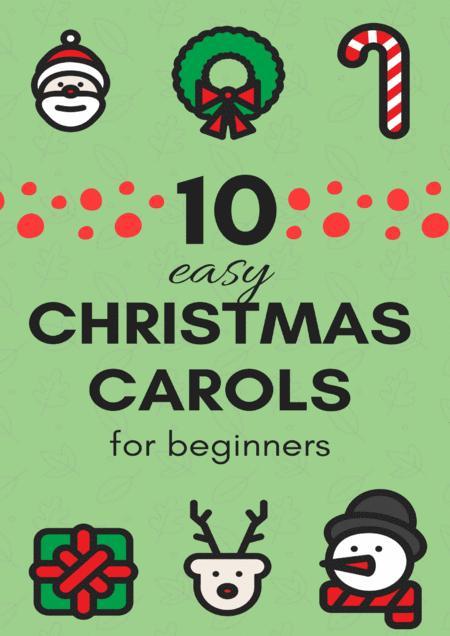 10 Easy Christmas Carols for Clarinet in Bb Beginners (Music for Children)