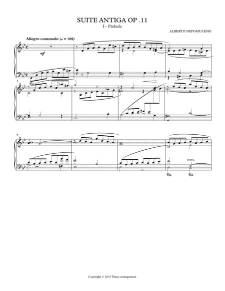 Suite Antiga Opus 11