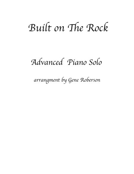 Built on The Rock  Piano Solo
