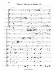 Sweet suite for flute quintet (piccolo, 2 flutes, alto flute and bass flute)