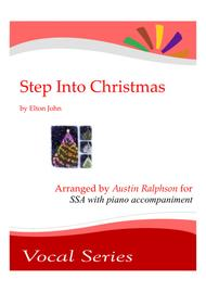 Step Into Christmas - SSA choir with piano